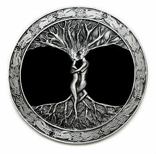 The Tree Of Life Belt Buckle Artistic Design Authentic Bergamot Fine Art Foundry