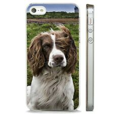 Springer Spaniel Cute Floppy Ears CLEAR PHONE CASE COVER fits iPHONE 5 6 7 8 X