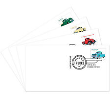 USPS New Pickup Trucks First Day Cover set of 4