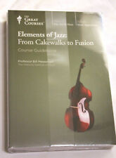 Elements of Jazz : From Cakewalks to Fusion (CD) New Sealed 8 cds + book