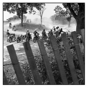 DANNY LYON signed photograph - 2021 Magnum Square Print - harley davidson