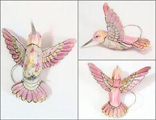 Bradford Exchange Hummingbird Ornament - Lena Liu Precious Jewels - Pink Beauty