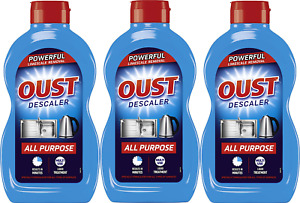 3x Oust Descaler All Purpose Powerful Limescale Removal 500ml