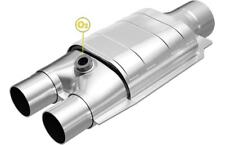 """MagnaFlow SS 2""""/2.5"""" IN/OUT California Catalytic Converter FOR Universal #338037"""