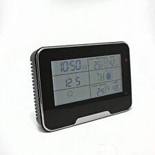 1080P Hidden Motion Detection Spy Nanny Wireless WIFI Camera Weather Station