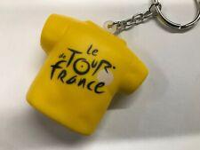 Tour de France Yellow Jersey Key Ring