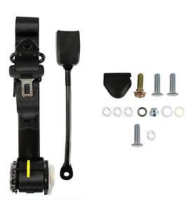 APV 90-90 On Pillar 3.2M Seat Belt - Stalk Buckles Seat or Tunnel Mounted 400mm