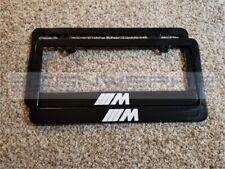 BMW M License Plate Frame M2 M3 M4 M5 M6 X3 X5 X4 Z4 X5 X3 X7 - Pair