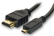 MICRO HDMI CABLE FOR EVO 4G MOTO XT800 DROID X SERIES 9 XPERIA ARC