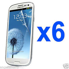 6 x LCD Ultra Clear Screen Protector For Samsung Galaxy S3 4G i9300 i9305 SIII