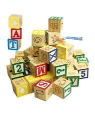 Pre School Wooden Building Blocks For Sale Ebay
