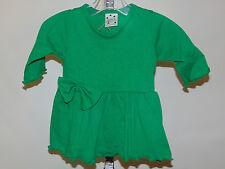 GIRLS IRISH GREEN TOP/DRESS SIZE 6  MONTHS NEW