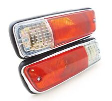 DATSUN 1300 520 521 TRUCK UTE PICKUP J13 FRONT BUMPER PARKING TURN SIGNAL LIGHTS