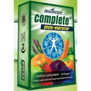 AIM Global Complete Phyto-Energizer Dietary Supplement Nature's Way 30caps