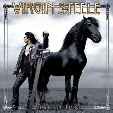 Virgin Steele/Visions of Eden-re-release * New 2cd's 2017 * NUOVO *