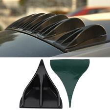 8Pcs Universal Car Waterproof Vortex Generators Roof Shark Fins Spoiler Wing Kit