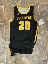 Wichita State Shockers #20 Under Armour AF Showtime Basketball Jersey Size Large