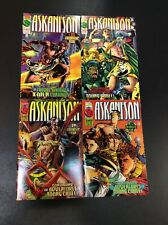 X-MEN #1 - 4 CABLE ASKANI SON Comic Books FULL SERIES JEPH LOEB GENE HA MARVEL