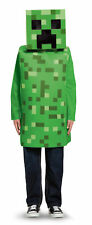 Licenced Kids Creeper Minecraft Fancy Dress Costume Boys Game Mojang Outfit