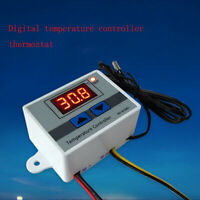 12V/220V Digital Temperaturregler Thermostat LED Control Temperatur Regler New