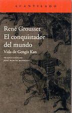 El conquistador del mundo. NUEVO. Nacional URGENTE/Internac. económico. NARRATIV