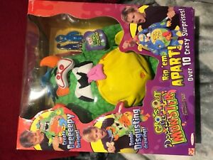 New boxed vintage retro  2006 Play Along Doodle Bears  GROSSOUT DOODLE MONSTER