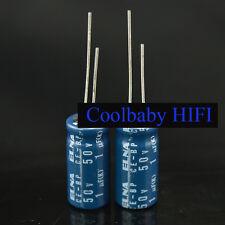 50PCS JAPAN ELNA BP  50v 1uF 10*20mm 85℃ HIFI Audio Electrolytic Capacitor