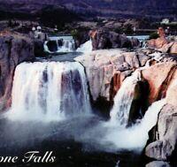 Shoshone Falls Park Waterfall Niagara Of The West Twin Falls ID Vintage Postcard