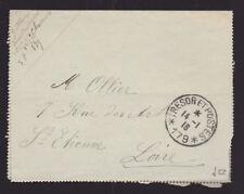 France 1916 Armée Housse Secteur Postal 179 102nd chasseurs division d'infanterie Loire