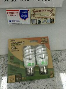 Feit Electric Ecobulb Plus Spiral Light Bulb Soft White 60W Extra Small(#13DB3UP