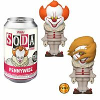 FUNKO POP! VINYL SODA: IT MOVIE PENNYWISE WITH POSS CHASE ** PREORDER **