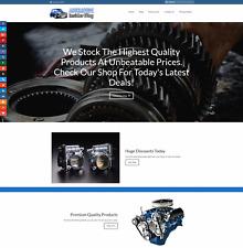 Car Parts/Pièces de rechange site gagner £ 129 A vente | libre Domaine | Free hébergement | libre trafic