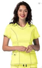 Pop Stretch Adar Medical Scrub Set Citron 3100/V Neck Top 3232 Medium