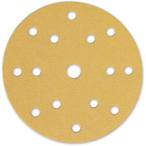 TRADE QUALITY HOOK & LOOP SANDING DISC 150MM  80 GRADE - 400 GRADE.
