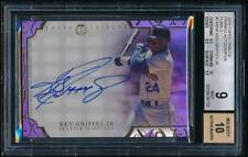 2015 Topps Tribute KEN GRIFFEY JR. Framed Purple Auto /10 *Mariners* BGS 9