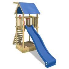 WICKEY Smart Tower Wooden Climbing Frame Garden kids Playground sandpit Slide