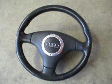 OEM Audi TT 8N0 Volante De Cuero Negro 2001-2005 # 8N0419091B25D