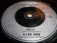 "ELTON JOHN "" NIKITA "" 7"" SINGLE 1985 VERY GOOD"