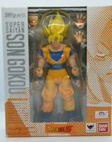 S.H. Figuarts Son Goku  Gokou Super Saiyan DBZ Figurine Bandai Tamashii Figure
