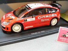 1/18 Autoart Citroen C4 WRC 2007 S. Loeb/D. Elena #1 (Winner Rally Monte Carlo)
