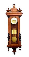 """52""""H German Gustav Becker Grand Sonnerie 3 Weight Vienna Regulator Wall Clock"""