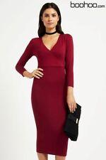 ae6e6c8bd6de Boohoo Wrap Dresses | eBay