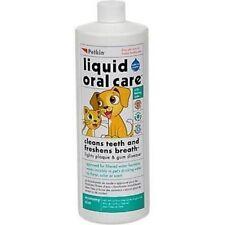 Petkin Invisible Formula Liquid Oral Care Teeth Dental Gums Fresh Brath Dogs an