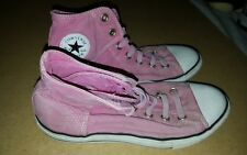 Converse Chuck Taylor All Star EASY SLIP ON Junior Sneakers 643850F SIZE 6 pink