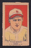 1923 W 515-1 #17 WALLY SCHANG NY YANKEES HAND CUT
