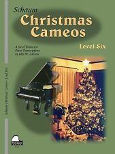Christmas Cameos: Level 6 (Schaum Publications Christmas Cameos)