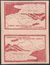 Colombia 1920 Unicolor 10c carmine TETE-BECHE pair-2