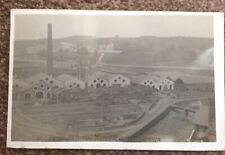1908 Cyfarthfa Ironworks Merthyr Tydfil Rare RP Postcard Glamorgan