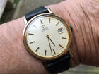 Vintage 9ct Solid Gold Mans Omega Automatic No Reserve