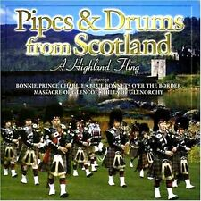BAGPIPES AND DRUMS OF SCOTLAND  NEW CD RED HACKLE / GLASGOW POLICE / SHOTTS ETC